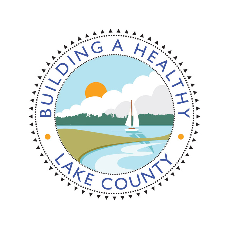 Building a Healthy Lake County Logo