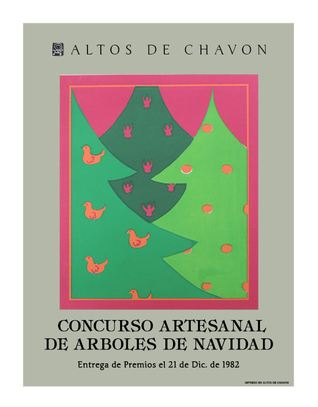 christmas tree contest posters altos de chavon