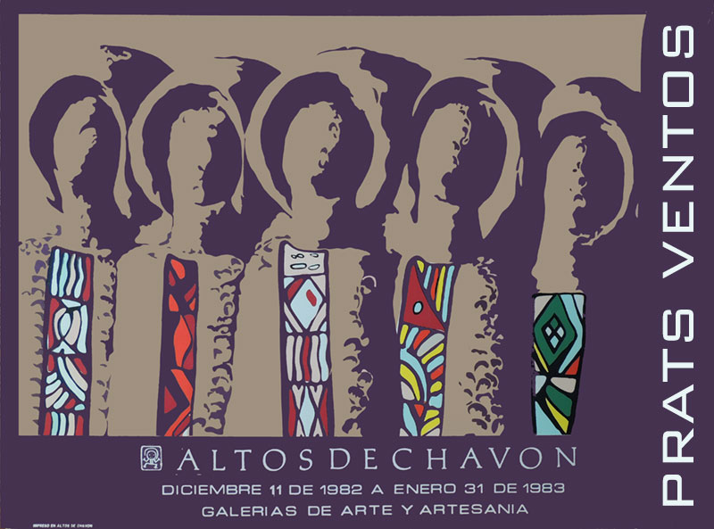 prats ventos gallery exhibit poster altos de chavon