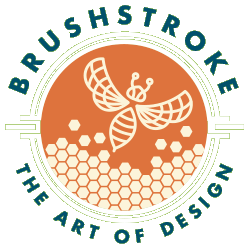 Brushstroke - a concierge design service offering Web and Graphic Design in Central Florida