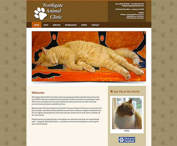 northgate animal clinic website